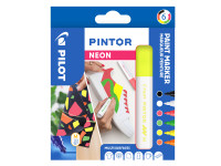 PINTOR 4.5 (M) 6er Set Neon Farben