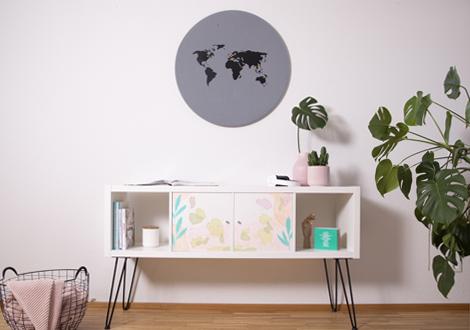 IKEA Hack: KALLAX Regal pimpen