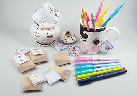 Niedliche Tee-Geschenkidee