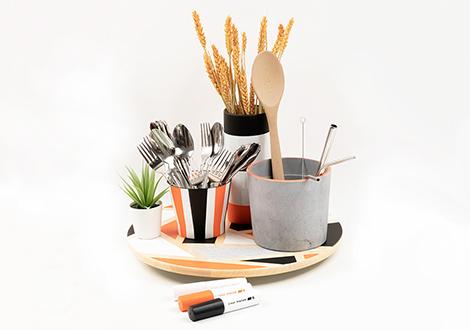 IKEA Hack: Küchen-Utensilo gestalten