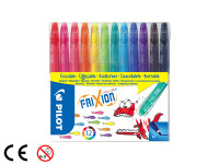 FriXion Colors 2.5 (M) 12er Set Farbl. sortiert