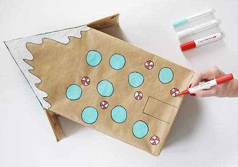 DIY-Adventskalender aus Klopapierrollen